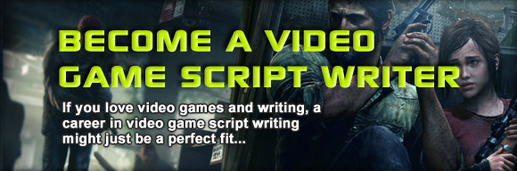 how to become a video game script writer